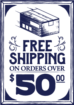 Free Shipping 50