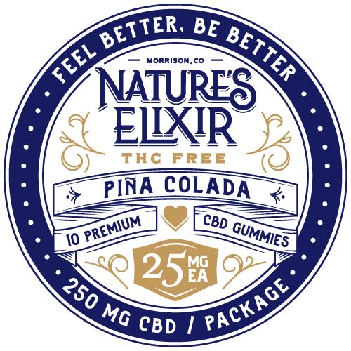 Gummies Pina Colada Front