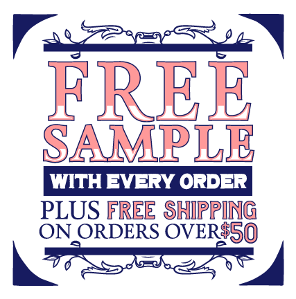 Free Sample With Order